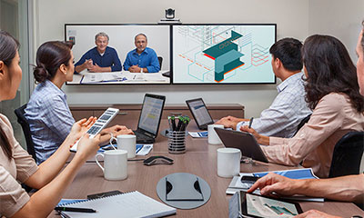 Salas para teleconferencias y comunicación unificada